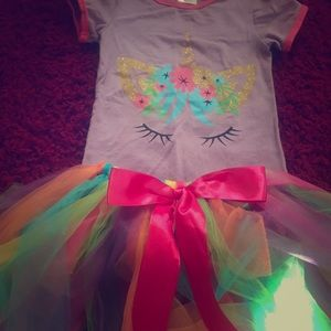 Other - Unicorn toddler outfit